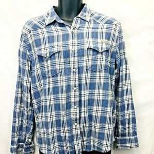 Lucky Brand Pearl Snap Western Shirt